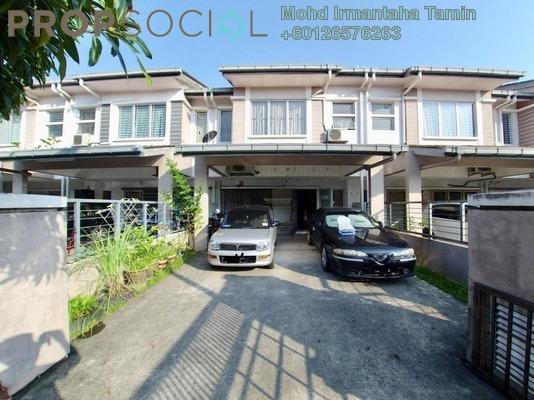 Terrace For Sale in Lagoon Homes, Kota Kemuning Freehold Semi Furnished 5R/4B 830k