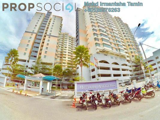 Apartment For Sale in Mutiara Anggerik, Shah Alam Freehold Semi Furnished 3R/2B 415k