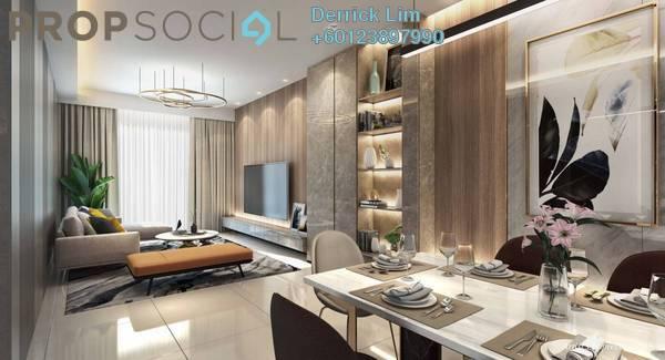 Condominium For Sale in Bangsar Hill Park, Bangsar Freehold Semi Furnished 3R/4B 1.22m