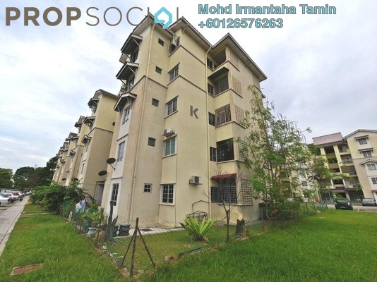 Apartment For Sale in Kasuarina Apartment, Klang Freehold Semi Furnished 3R/2B 320k