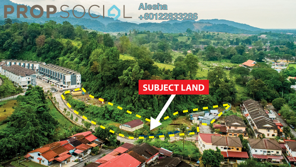 Land For Sale in Taman Lembah Tupai, Taiping Freehold Unfurnished 0R/0B 4m