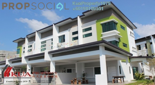 Townhouse For Sale in Aurora Height Community, Kuching Leasehold Unfurnished 4R/3B 542k