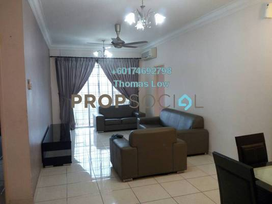 Condominium For Rent in Platinum Hill PV6, Setapak Freehold Fully Furnished 4R/2B 1.8k