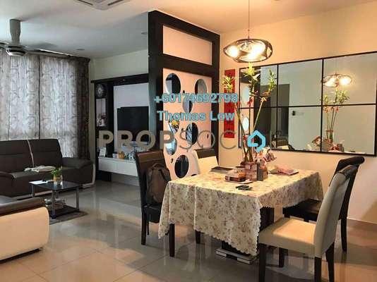 Serviced Residence For Rent in The Loft @ ZetaPark, Setapak Freehold Fully Furnished 3R/4B 2.7k