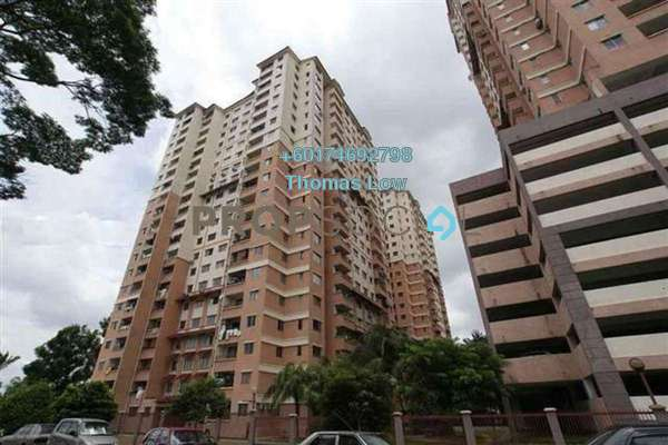 Condominium For Rent in Idaman Sutera, Setapak Freehold Semi Furnished 3R/2B 1.2k