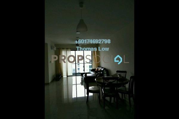 Condominium For Rent in Ascenda Residence @ SkyArena, Setapak Freehold Semi Furnished 3R/2B 1.4k