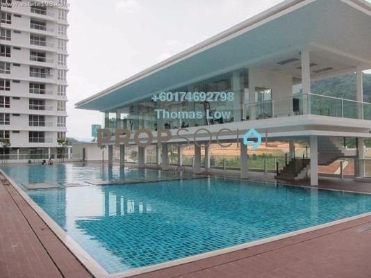 Condominium For Rent in Platinum Hill PV2, Setapak Freehold Semi Furnished 4R/2B 1.6k