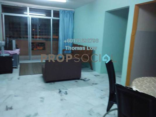 Apartment For Rent in Dahlia Apartment, Setapak Freehold Fully Furnished 3R/2B 1.5k