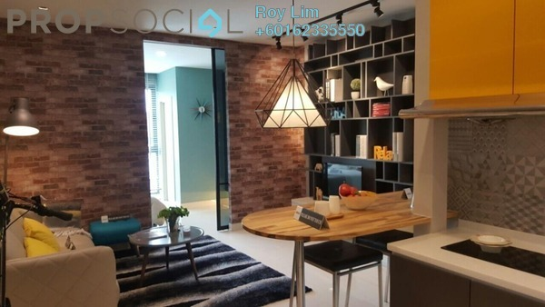 Condominium For Rent in Liberty Arc @ Ampang Ukay, Ukay Freehold Fully Furnished 1R/1B 1.4k