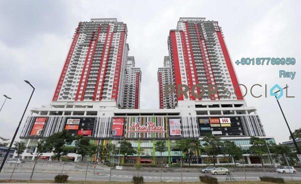 Condominium For Sale in Main Place Residence, UEP Subang Jaya Freehold Fully Furnished 3R/2B 520k