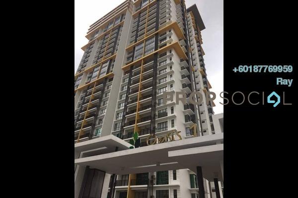 Condominium For Sale in Oasis 1 @ Mutiara Heights, Kajang Freehold Semi Furnished 3R/2B 520k