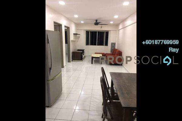 Apartment For Rent in Lestari Apartment, Bandar Sri Permaisuri Freehold Fully Furnished 3R/2B 1.35k