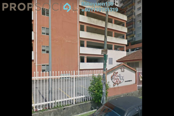 Apartment For Rent in Sri Ria Apartment, Kajang Freehold Fully Furnished 3R/2B 900translationmissing:en.pricing.unit