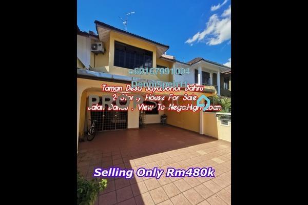 Terrace For Sale in Taman Desa Jaya, Johor Bahru Freehold Unfurnished 4R/3B 480k