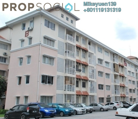 Apartment For Sale in Desa Mutiara Apartment, Mutiara Damansara Freehold Unfurnished 3R/2B 198k