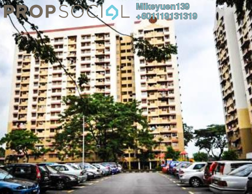 Apartment For Sale in Sentul Park Apartment, Sentul Freehold Unfurnished 3R/2B 168k