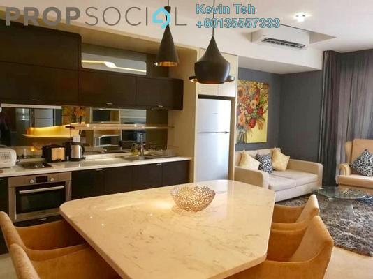 Condominium For Rent in VERVE Suites, Mont Kiara Freehold Fully Furnished 2R/2B 3.5k