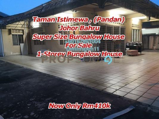 Bungalow For Sale in Taman Daya, Tebrau Leasehold Unfurnished 4R/2B 410k