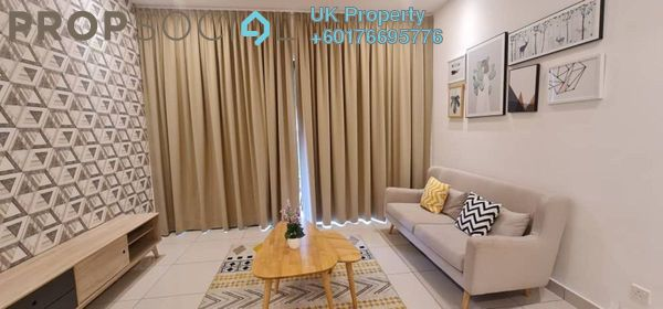 Condominium For Rent in The Parque Residences @ Eco Sanctuary, Telok Panglima Garang Freehold Fully Furnished 2R/2B 2.8k