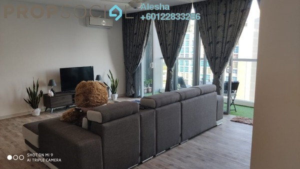 Condominium For Sale in LakeFront Residence, Cyberjaya Freehold Fully Furnished 3R/2B 680k