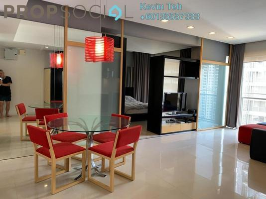 Condominium For Rent in VERVE Suites, Mont Kiara Freehold Fully Furnished 2R/2B 3.2k