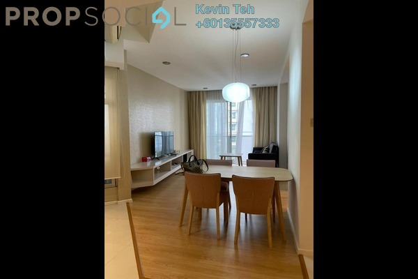 Condominium For Rent in VERVE Suites, Mont Kiara Freehold Fully Furnished 2R/2B 3.8k