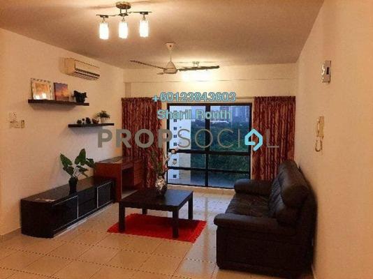 Apartment For Rent in Pelangi Damansara Sentral, Mutiara Damansara Freehold Fully Furnished 2R/2B 2.1k