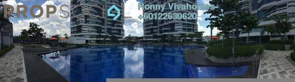 Condominium For Rent in AraGreens Residences, Ara Damansara Freehold Semi Furnished 3R/2B 2.5k