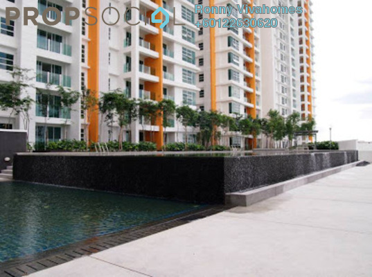 Condominium For Rent in The Zest, Bandar Kinrara Freehold Semi Furnished 3R/2B 1.7k