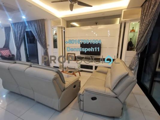 Semi-Detached For Sale in Taman Ponderosa, Johor Bahru Freehold Semi Furnished 5R/4B 1.3m