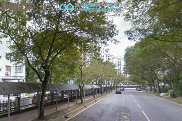 Apartment For Rent in Tasik Heights Apartment, Bandar Tasik Selatan Leasehold Unfurnished 3R/2B 1.1k