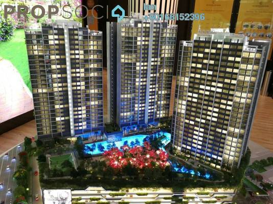 Serviced Residence For Sale in Sunway Mentari, Bandar Sunway Freehold Semi Furnished 2R/2B 478k