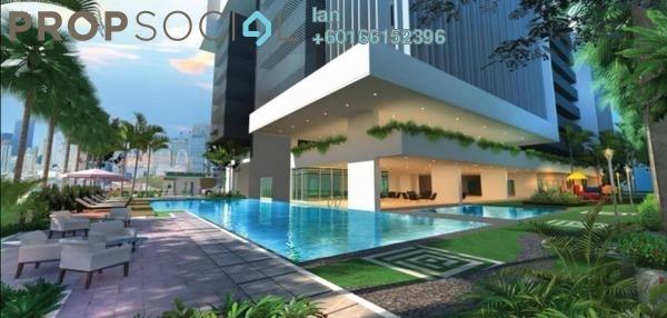 Condominium For Sale in Berlian Residence @ Setapak, Kuala Lumpur Freehold Unfurnished 3R/2B 485k