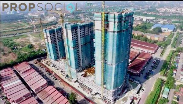 Condominium For Sale in Kajang 2, Kajang Freehold Unfurnished 3R/2B 250k