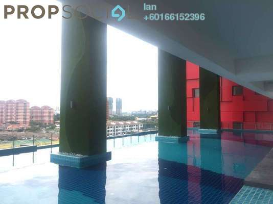 Condominium For Rent in Cube @ One South, Seri Kembangan Freehold Fully Furnished 1R/1B 1.6k