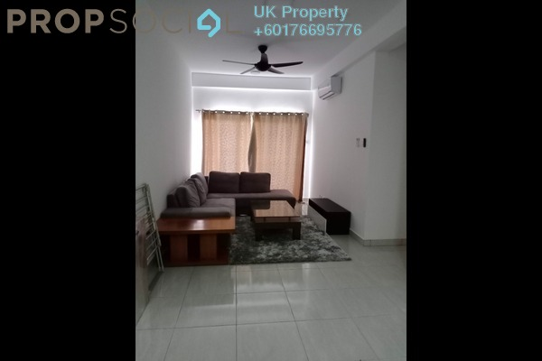 Serviced Residence For Rent in BSP 21, Bandar Saujana Putra Freehold Semi Furnished 3R/2B 1.4k