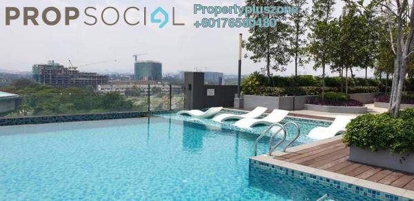 Condominium For Rent in Section 13, Shah Alam Freehold Semi Furnished 2R/2B 1.7k