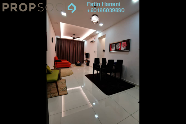 Condominium For Rent in Seasons Garden Residences, Wangsa Maju Freehold Semi Furnished 3R/2B 1.7k