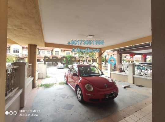 Terrace For Rent in Kemuning Bayu , Kemuning Utama Freehold Semi Furnished 4R/3B 1.6k