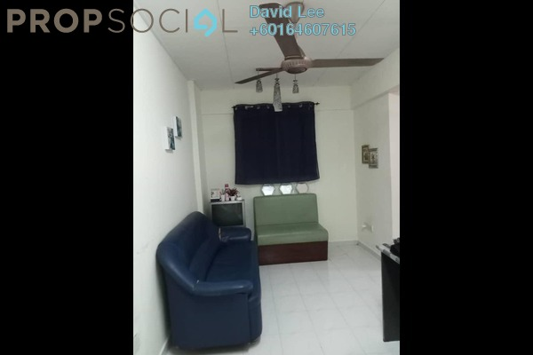 Apartment For Sale in Pinang Emas Flat, Batu Ferringhi Freehold Semi Furnished 3R/1B 115k