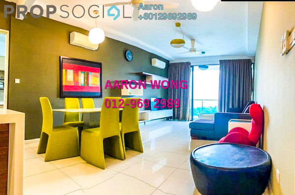Condominium For Rent in LaCosta, Bandar Sunway Freehold Fully Furnished 2R/2B 3.4k