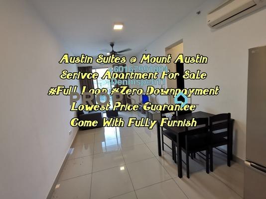 Condominium For Sale in Austin Suites, Tebrau Freehold Unfurnished 1R/1B 279k