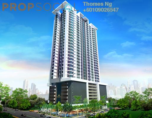 Condominium For Sale in Berlian Residence @ Setapak, Kuala Lumpur Freehold Semi Furnished 3R/2B 865k