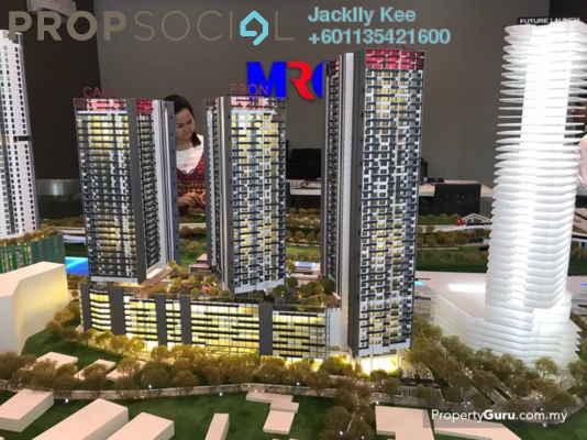 Condominium For Sale in Tria Residences @ 9 Seputeh, Old Klang Road Freehold Fully Furnished 2R/2B 0translationmissing:en.pricing.unit