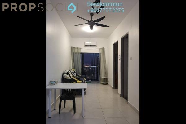 Condominium For Sale in Vim 3, Bandar Menjalara Freehold Semi Furnished 0R/1B 325k