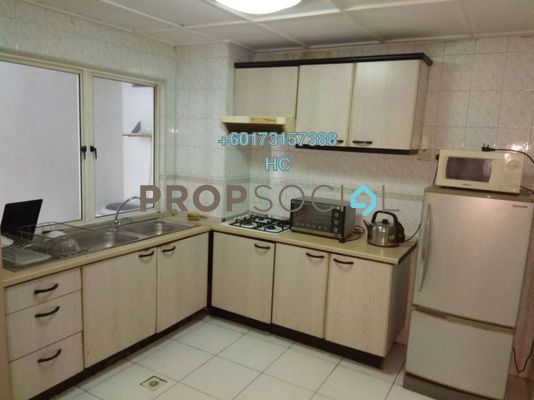 Condominium For Rent in City Gardens, Bukit Ceylon Freehold Fully Furnished 3R/2B 2.5k