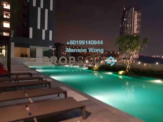 Condominium For Rent in CitiZen, Old Klang Road Freehold Semi Furnished 3R/2B 1.8k