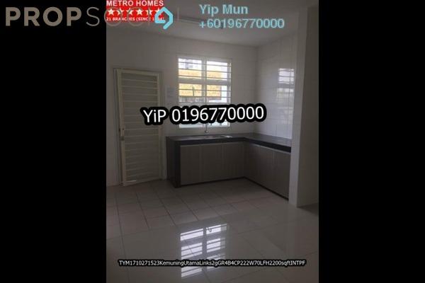Terrace For Sale in Kemuning Bayu , Kemuning Utama Freehold Semi Furnished 4R/4B 750k