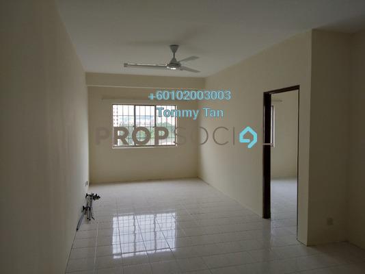 Apartment For Rent in Cemara Apartment, Bandar Sri Permaisuri Freehold Unfurnished 3R/2B 1.1k