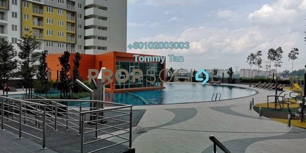 Condominium For Rent in The Holmes, Bandar Tun Razak Freehold Unfurnished 3R/2B 1.4k